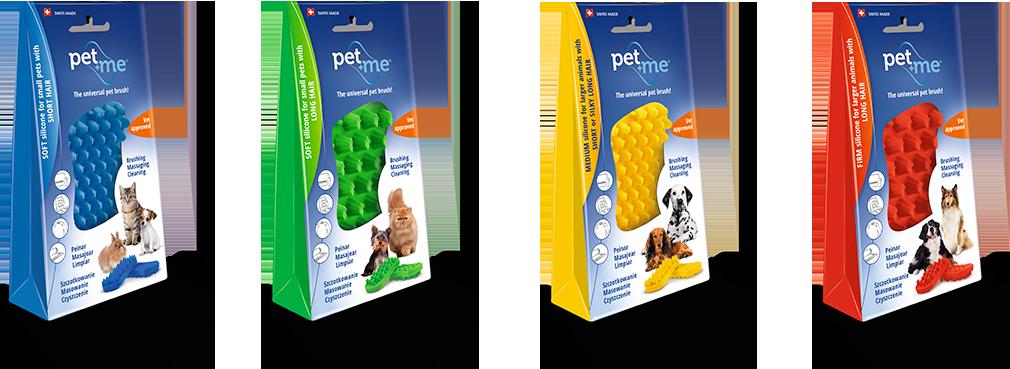 Pet and me masážní kartáč pro kočky a psy