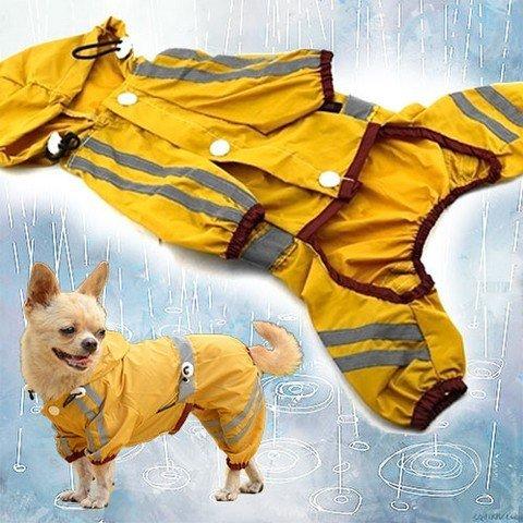 Nepromokavý obleček pro psa