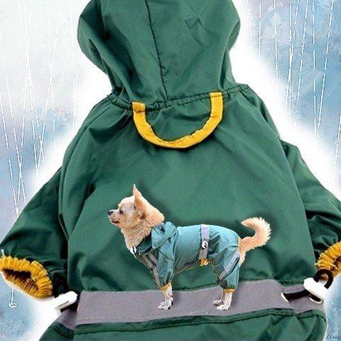 Textilní pláštěnka pro psa