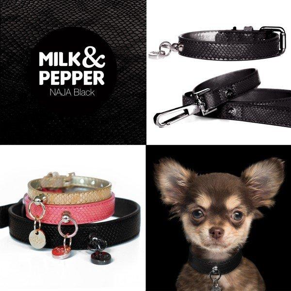 Milk and Pepper - obojky a vodítka Naja