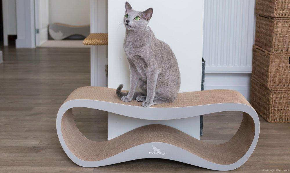 Luxusní škrabadla pro kočky
