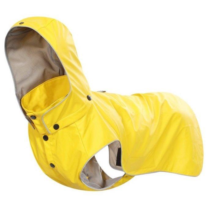Žlutá pláštěnka pro psy