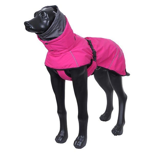 Zimní obleček pro psa růžový