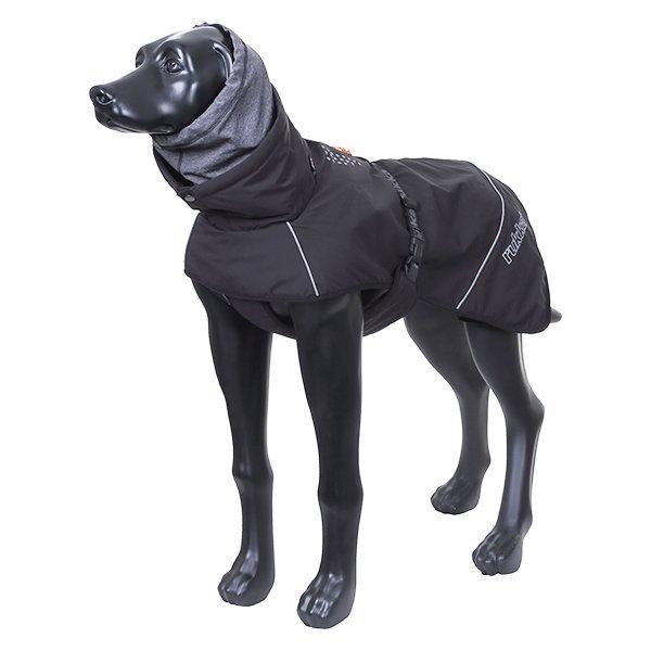 Černá zimní bunda pro psy
