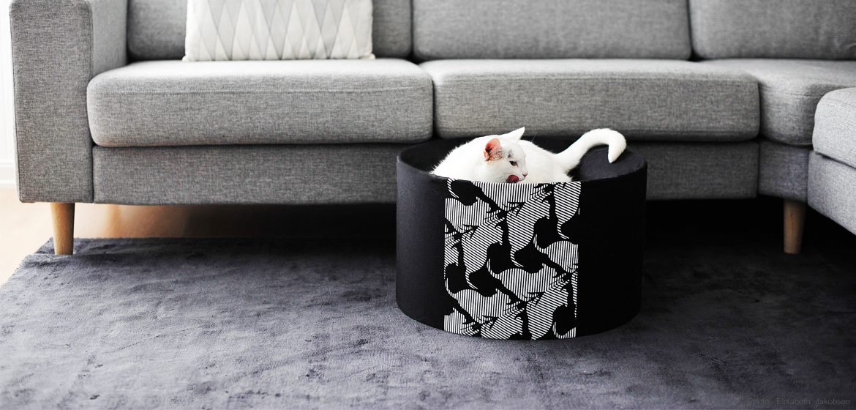 Moderní pelíšek pro kočku