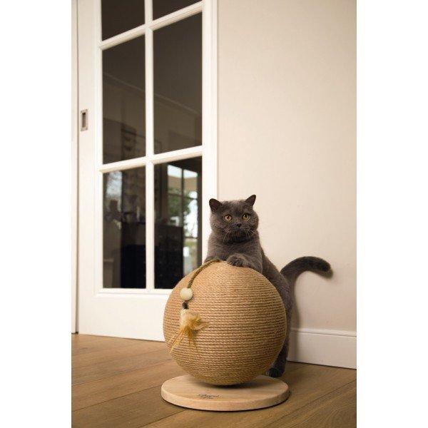 Kočičí škrabadlo kulaté