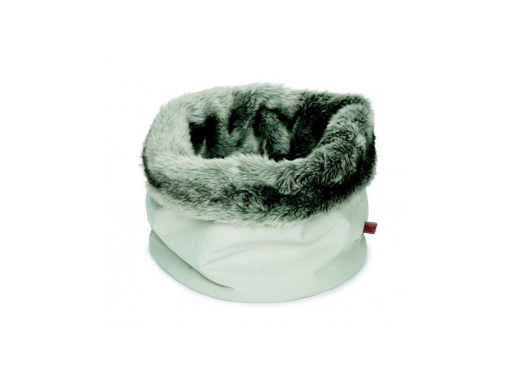 Chlupatý pelíšek pro kočku