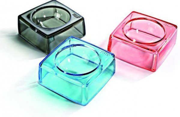 Elegantní italská miska Fellipet Kristal Supreme pro psa nebo kočku