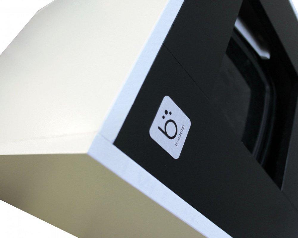Binq - designová toaleta pro kočky černá + stelivo