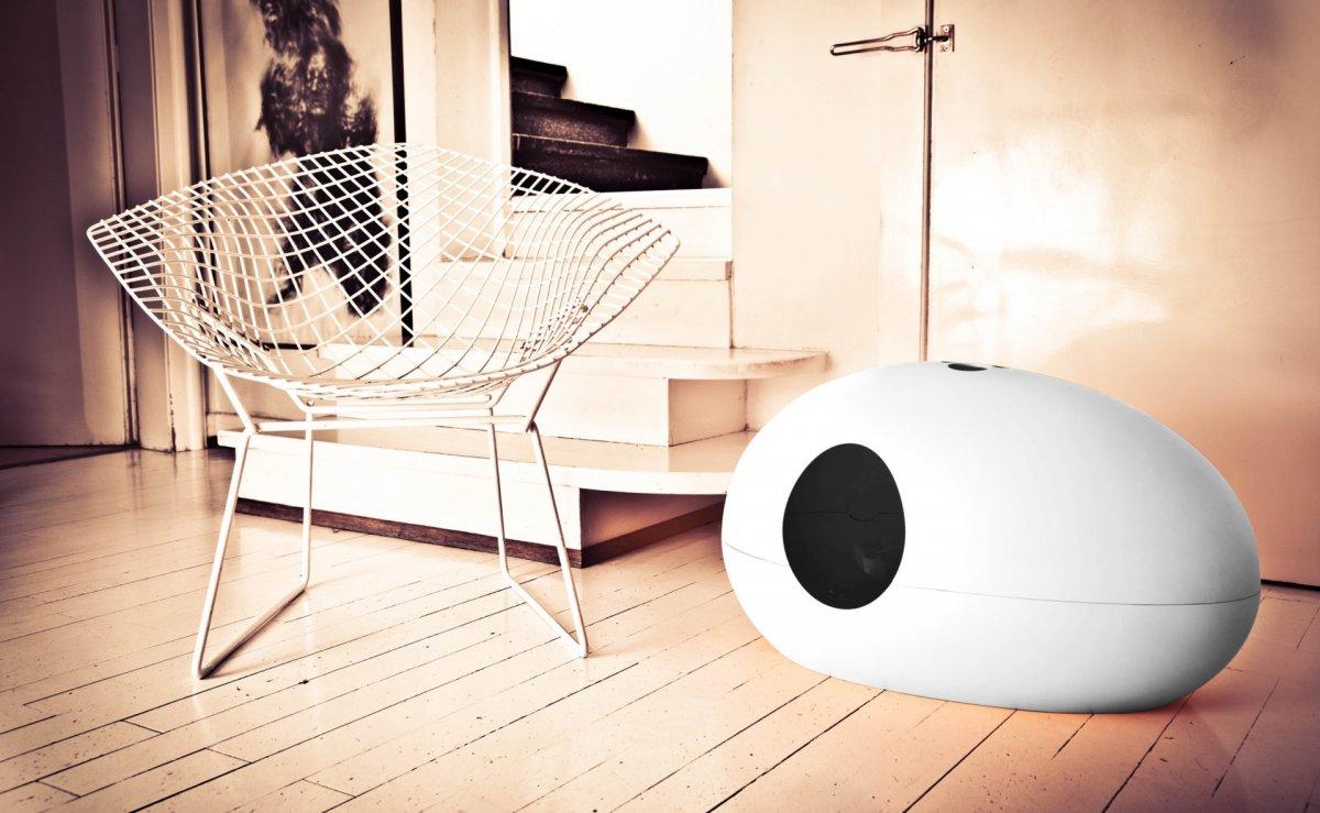 Poopoopeedo: designová toaleta pro kočky
