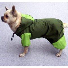 Pláštěnka pro psa - tmavě zelená