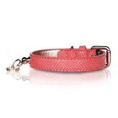 Luxusní obojek Naja Pink pro psy - růžový