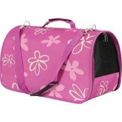 Módní cestovní taška Flower Bag - růžová