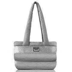 Cestovní přepravní taška Capsule pro psa a kočku - stříbrná