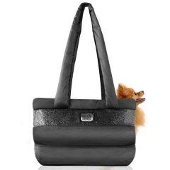 Cestovní přepravní taška Capsule pro psa a kočku - černá