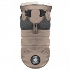 Zimní obleček pro psa - kabát Blitzen camel