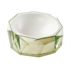 Miska Diamond pro kočku a psa - zelená