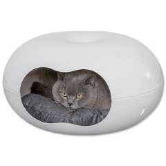 Pelíšek a odpočívadlo pro kočky OVÁL