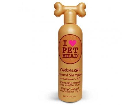 Přírodní šampon pro psy PET HEAD Oatmeal pro hydrataci