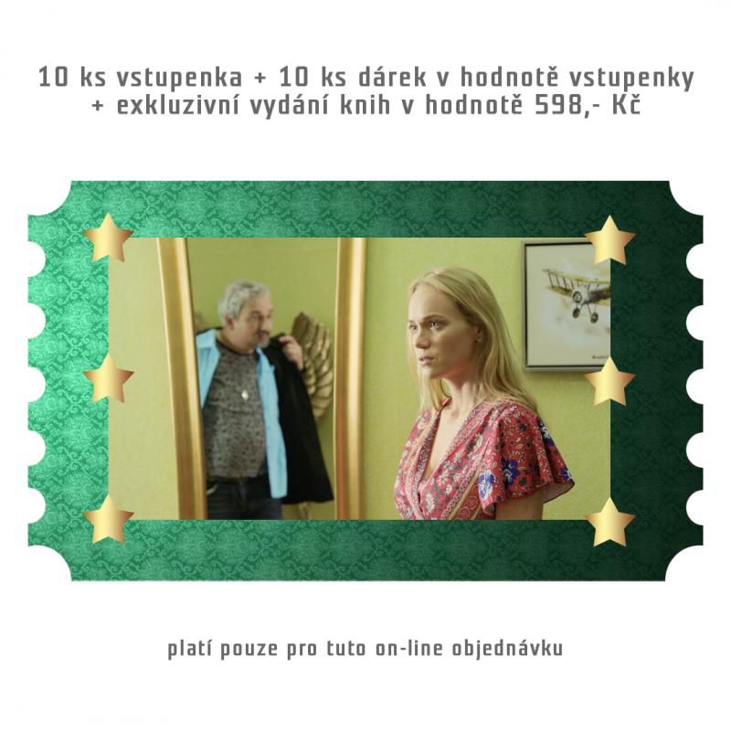 DIMENZE 10 ks + 10 x dárek v hodnotě vstupenky + dárek v hodnotě 598,- Kč