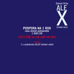 ALEX Setkání světů - podporovatel za fix 11%