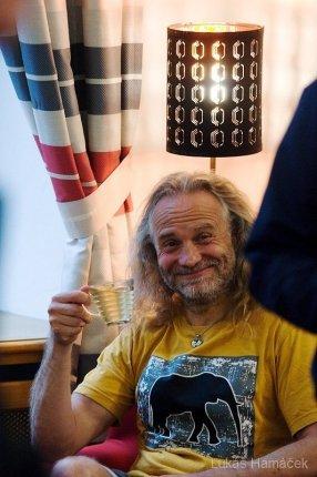 Ohnivo ledový muž Josef Šálek
