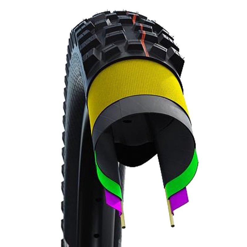 Schwalbe NOBBY NIC new 29x2.35 SuperTrail/TLE/Addix SpeedGrip, skládací
