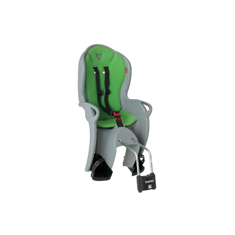 Dětská sedačka HAMAX KISS zadní, světle šedá/zelená