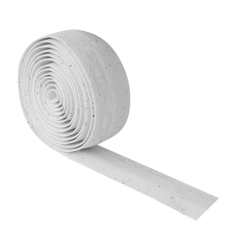 omotávka FORCE korková s vytlačeným logem, bílá