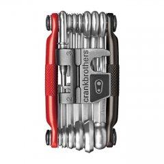 CRANKBROTHERS cestovní nářadí Multi-19 Tool, Black/Red