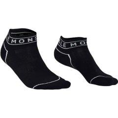MONS ROYAL ponožky VERT ANKLE 3''SOCK black, L