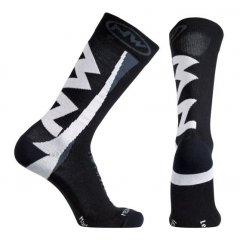 Northwave pánské cyklo ponožky Extreme Socks Black/White
