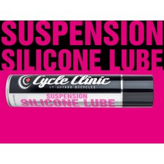 Mazivo Cycle Clinic Suspension Silicone Lube 400ml - černá