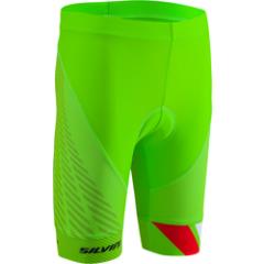 Silvini dětské cyklistické kalhoty TEAM, green-red