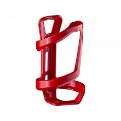 Bontrager košík na pravou stranu na bidony Side Load Water Bottle Cage, červený - lesklý