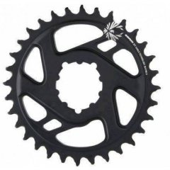 SRAM CR X-SYNC EAGLE CF 34T DM 6 OFF BLK