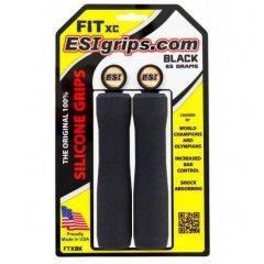 ESI grips CHUNKY Fit XC gripy, 65 g - black