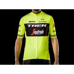 Pánský dres Jersey Santini Trek-Segafredo Replica, Vis Yellow