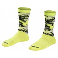 Bontrager Race LTD Crew Cycling Sock, reflexní žlutá