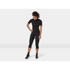 Cyklistické termonávleky na kolena Bontrager, černá, vel, L