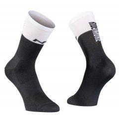 Northwave pánské cyklo ponožky Work Less Ride More Sock Black/White