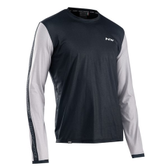Northwave Xtrail Man Jersey Long Sleeve, Blck/Off White