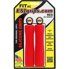 ESI grips FIT XC, red, 65 g