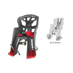 Dětská sedačka TATOO HANDLEFIX přední, šedá/červená