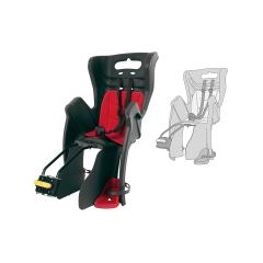 Dětská sedačka LITTLE DUCK STANDARD zadní, šedá-červená