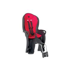 Dětská sedačka HAMAX KISS zadní, černá/červená
