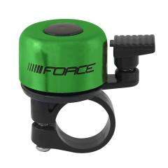 Zvonek FORCE MINI 22,2 mm, paličkový, zelený