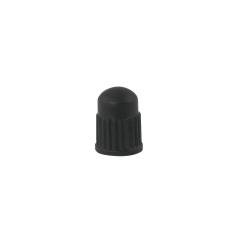 Čepička ventilku VELO plastová, černá