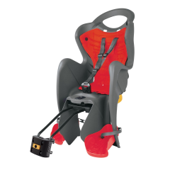 Dětská sedačka MR FOX RELAX B-FIX zadní šedá/červená