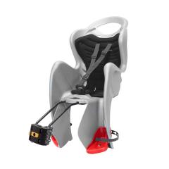 Dětská sedačka MR FOX STANDARD B-FIX zadní stříbrná/černá